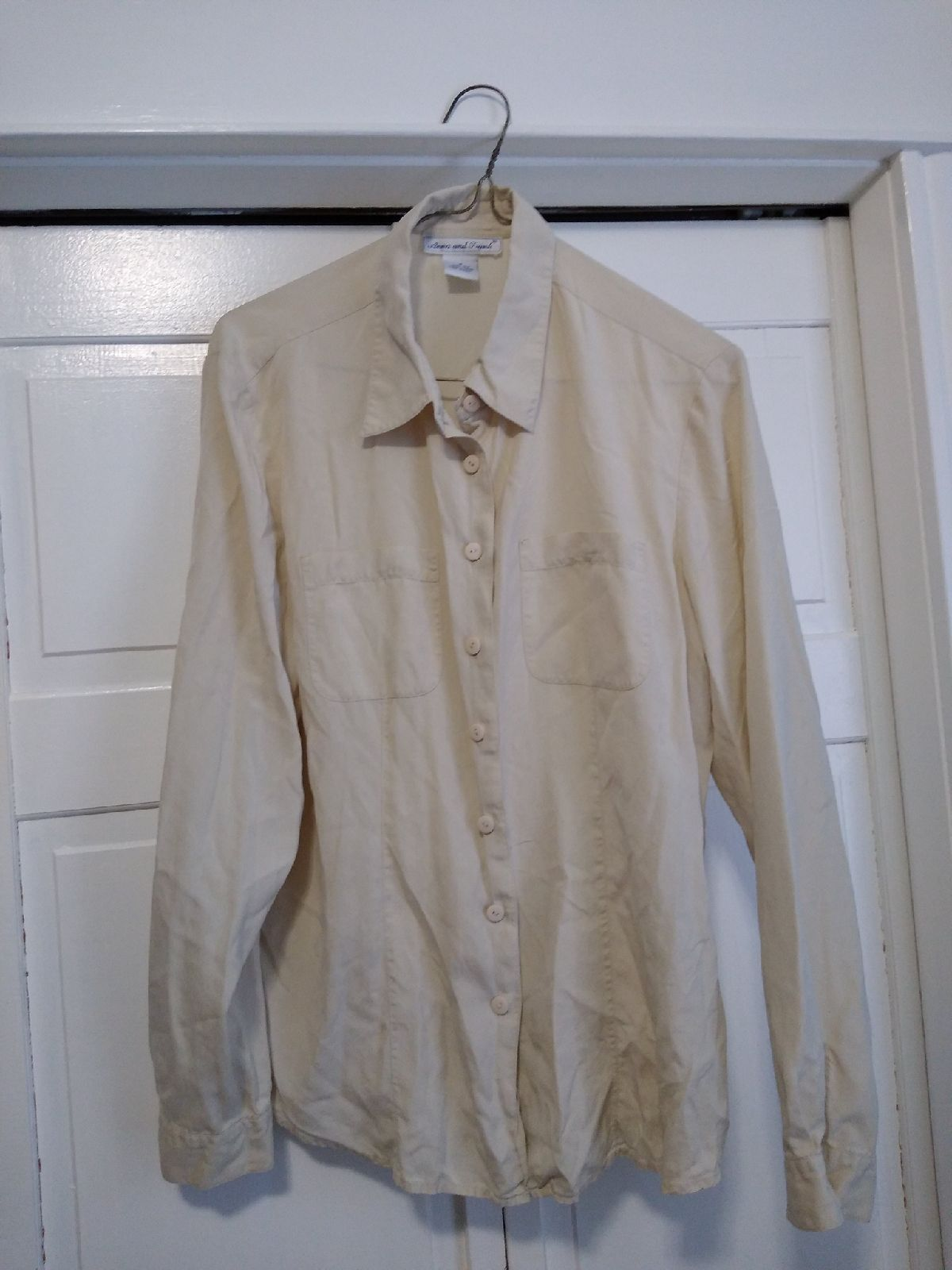 Vintage Anna and Frank Silk Shirt