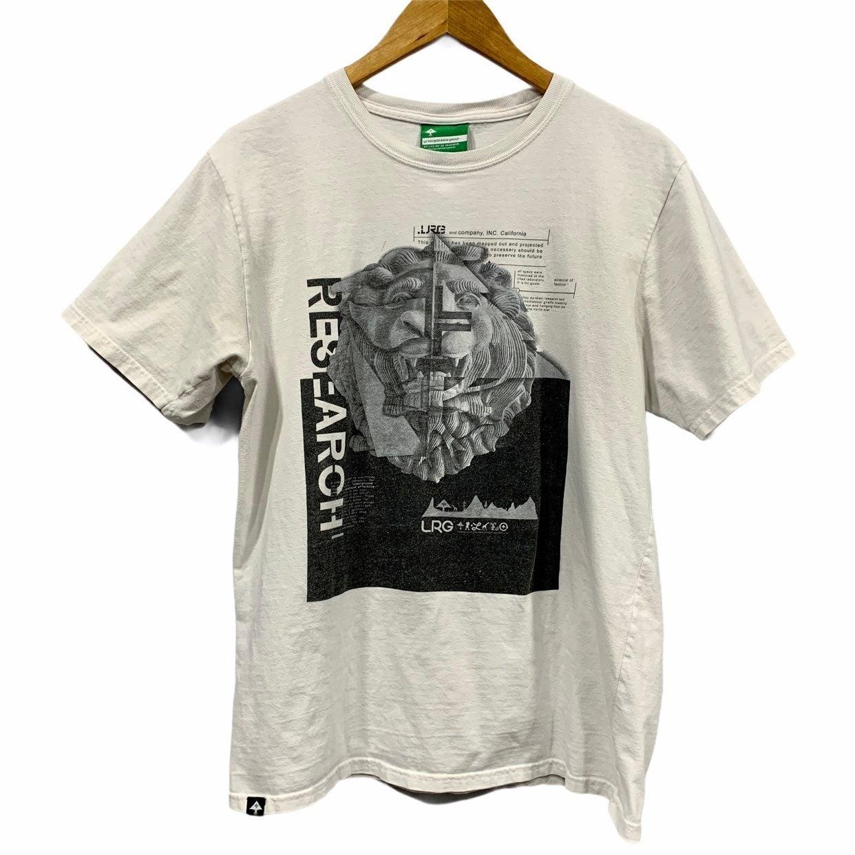 LRG Lion Graphic T Shirt Men's M