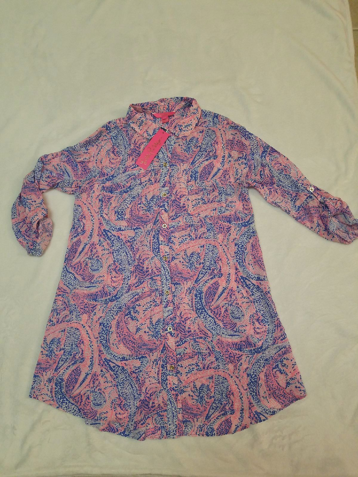 Lilly Pulitzer Natalie Cover Up (SMALL)