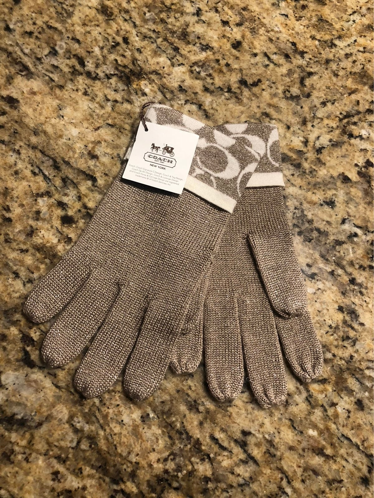Coach Womens Gloves