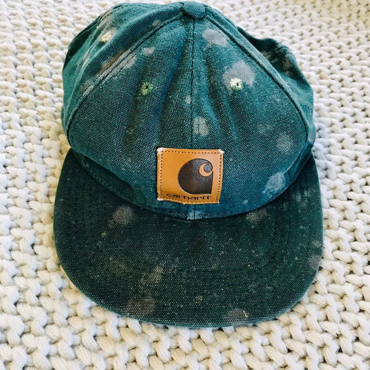 Carhartt vintage teal hat