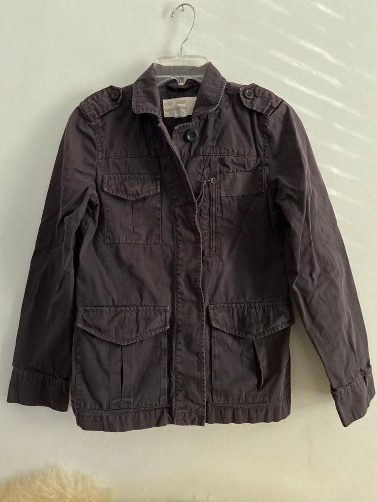 J. Crew Twill Chino Cargo field jacket