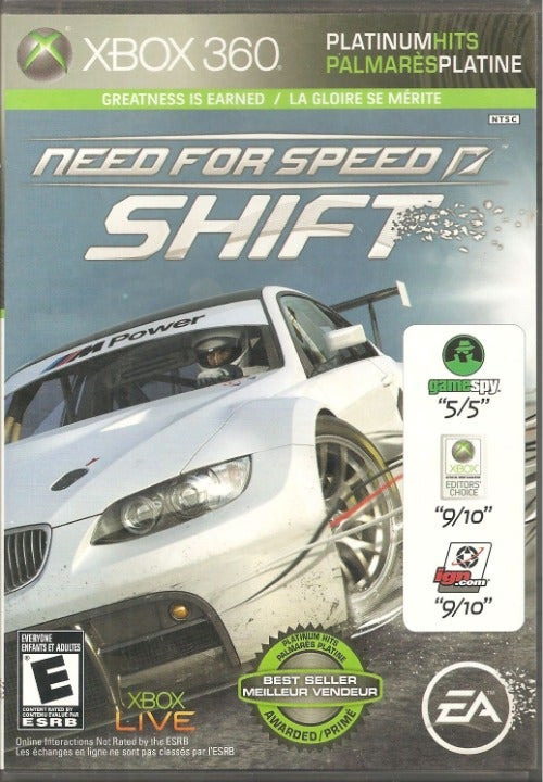 XBOX 360 Need For Speed Shift by EA
