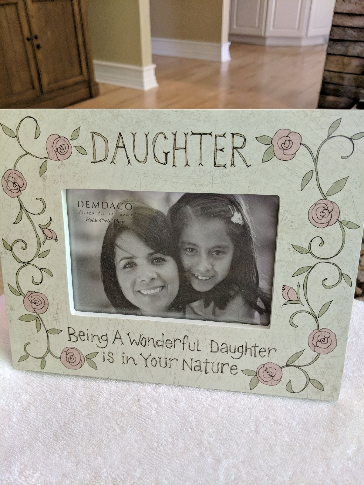 New/daughter picture frame 4x6