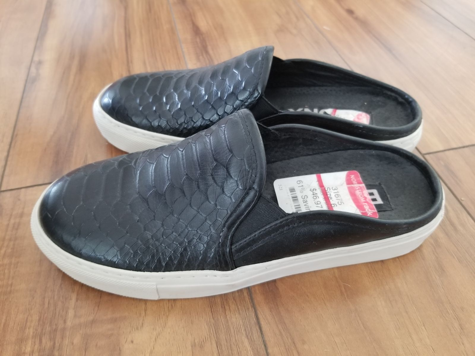 Bronx Kay Kay Slide Sneakers Snakeskin