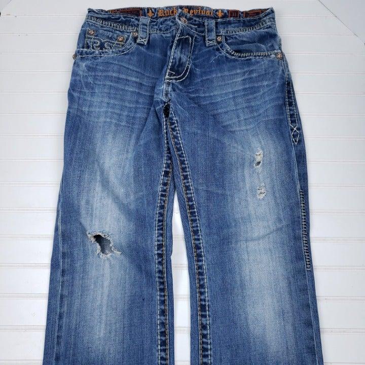 Rock Revival Men's Size 31 Jeans Paul St