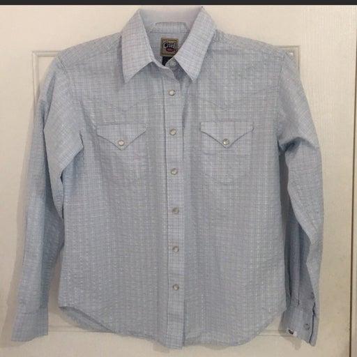 Cruel Girl Button Long Sleeve Shirt