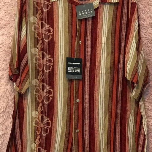 Men XL Hawaiian Shirt New
