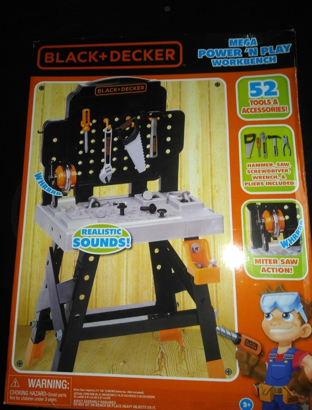 Black+Decker Jr. Mega Power N' Play