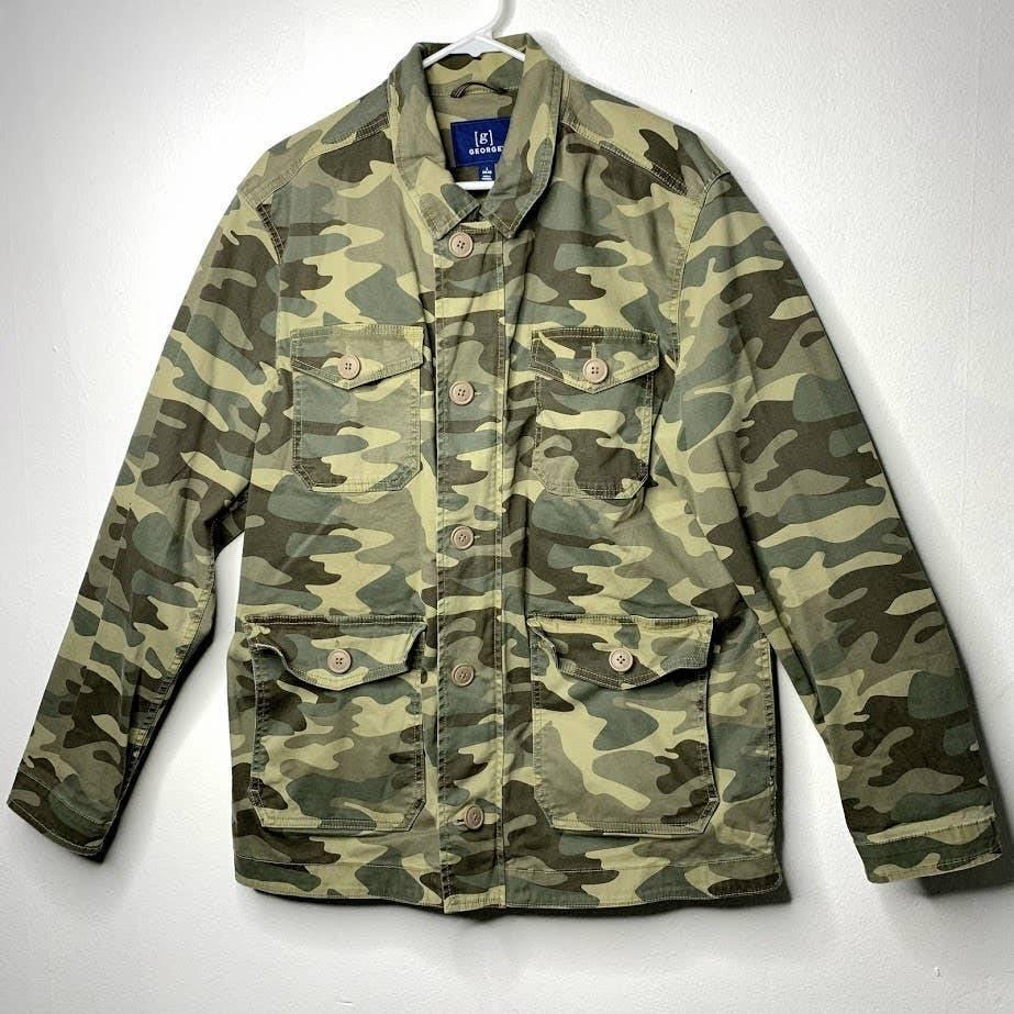 George Camo Utility Jacket 4 Pockets