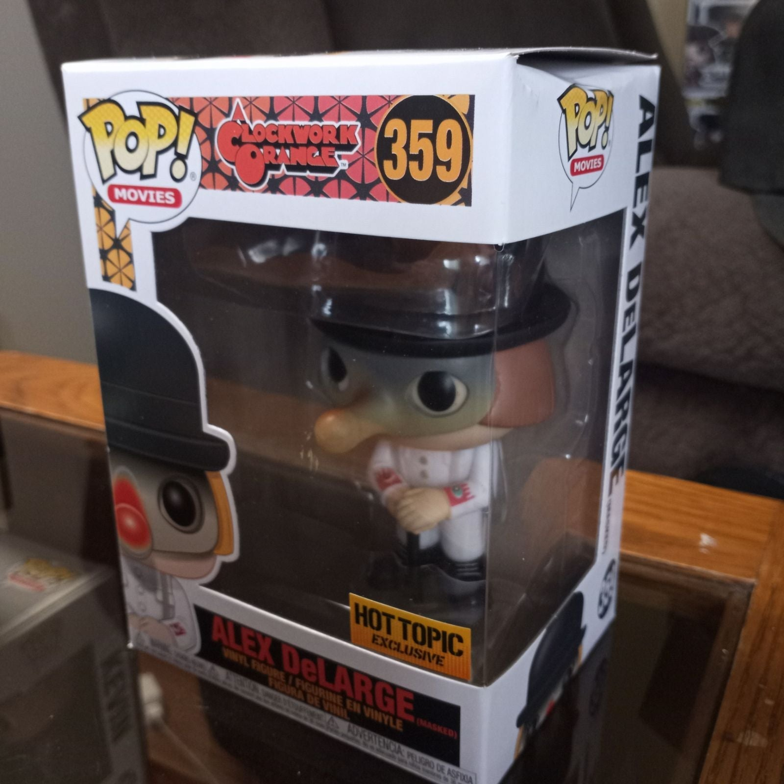 Alex DeLarge Hot Topic exclusive