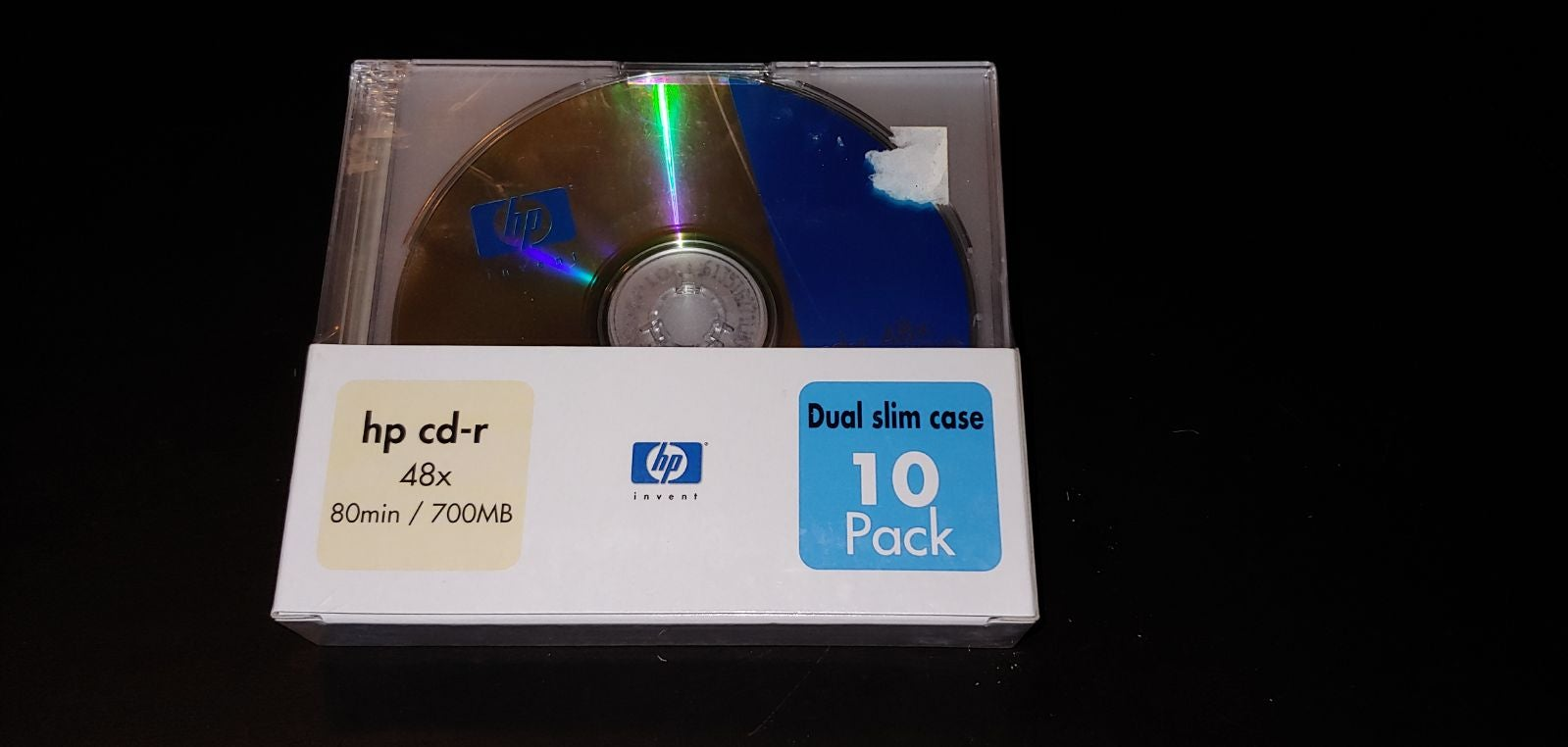 HP CD-R DA Blank Recordable Disc Pack