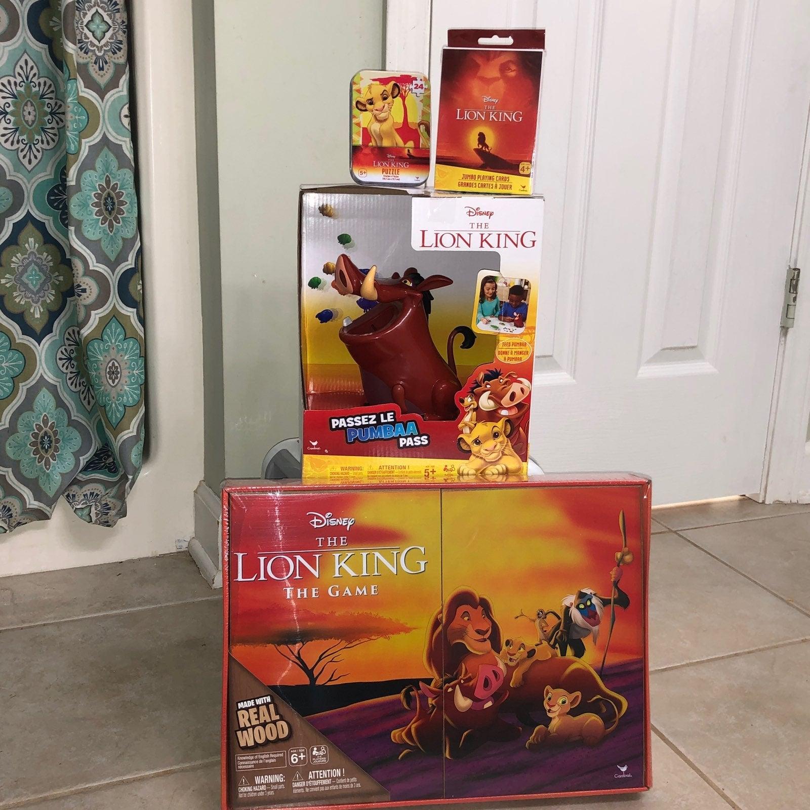 Lion king games