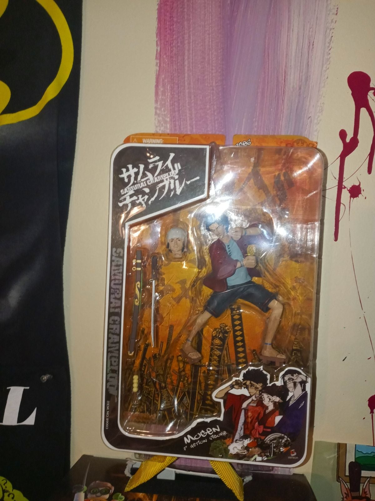 Samurai Champloo Mugen figure
