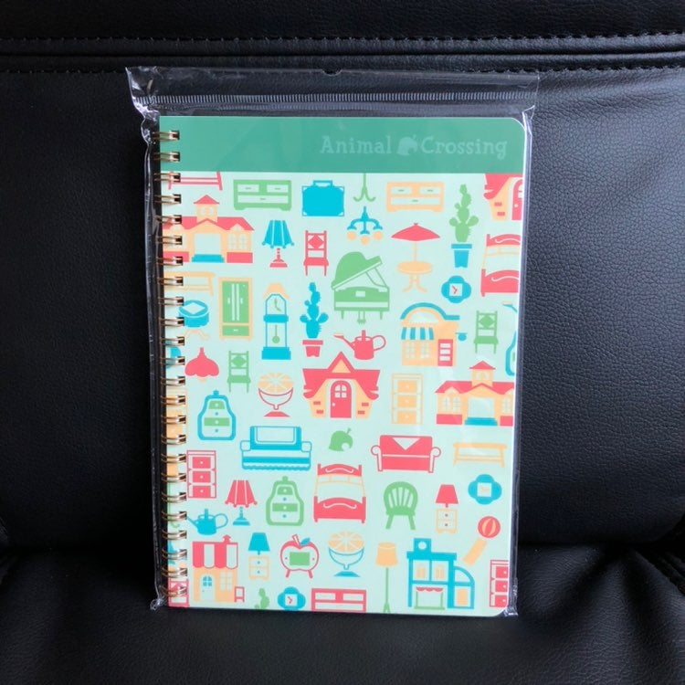 Animal Crossing Spiral Notebook