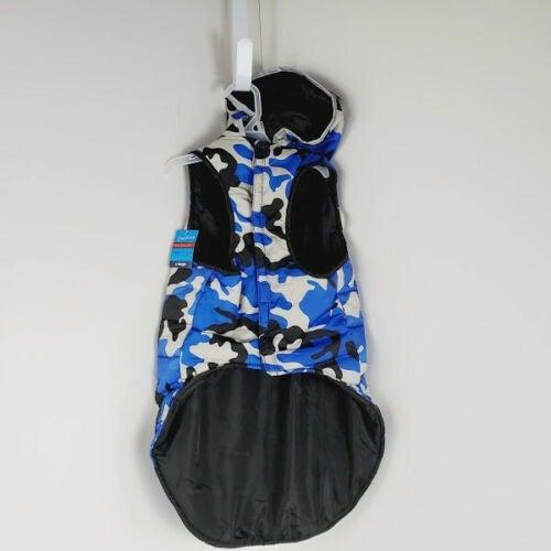 Bret Michaels Dog Puffer Jackets Size XL