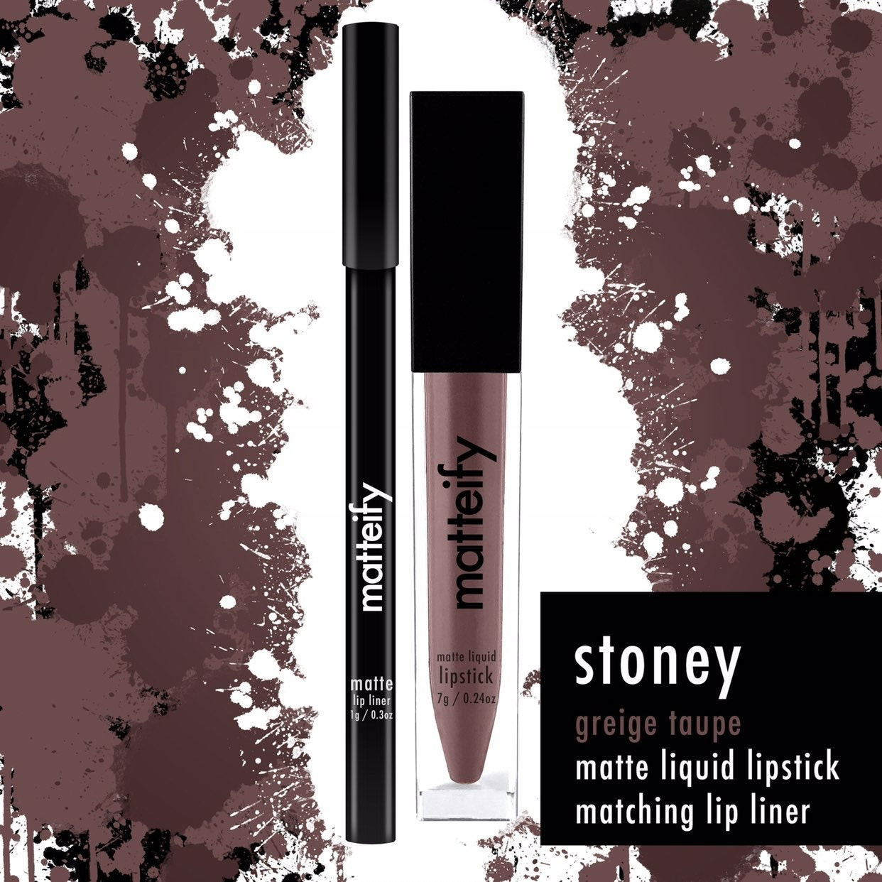 Matteify stoney lip kit