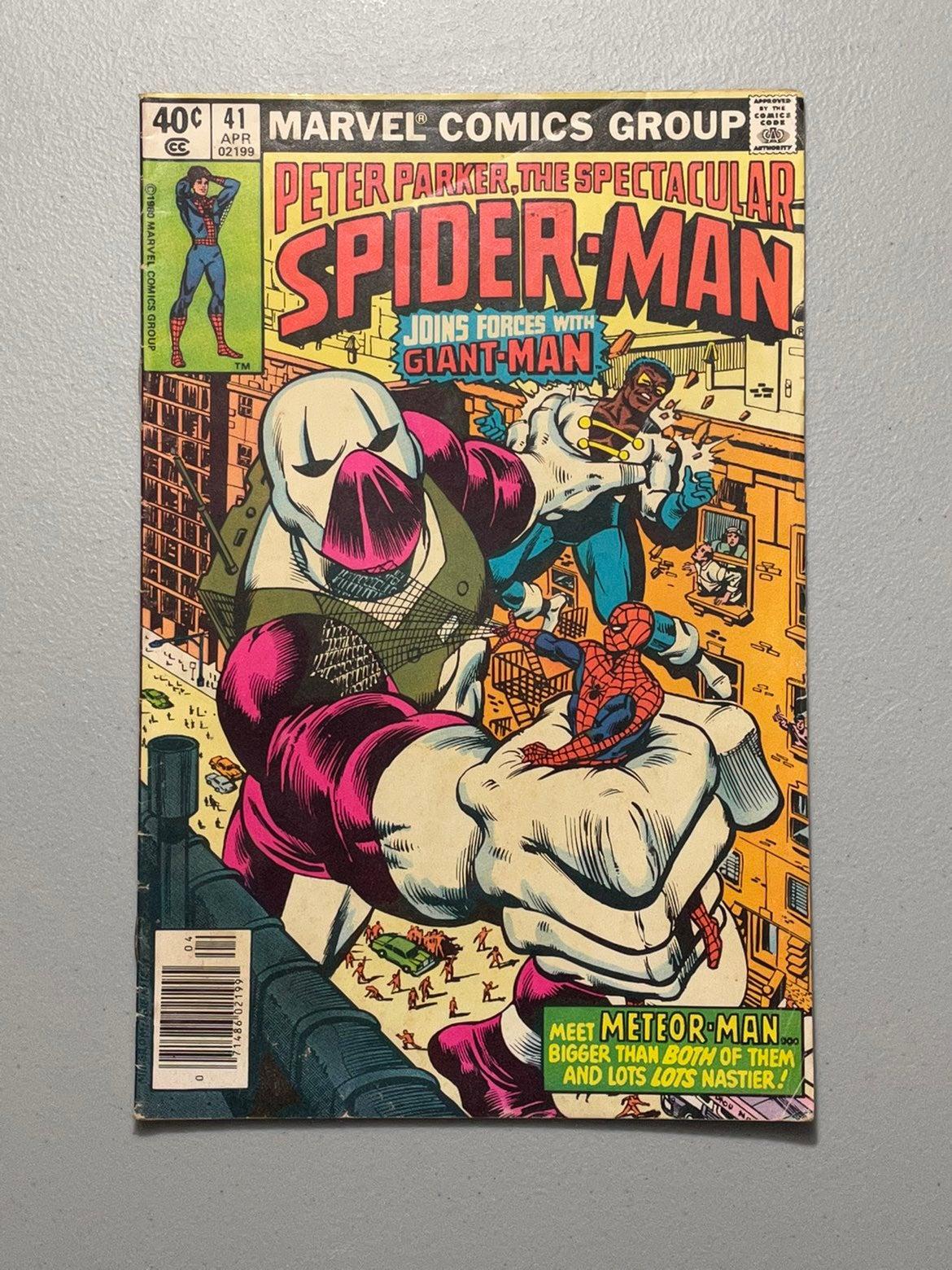 Spectacular Spider-Man # 41