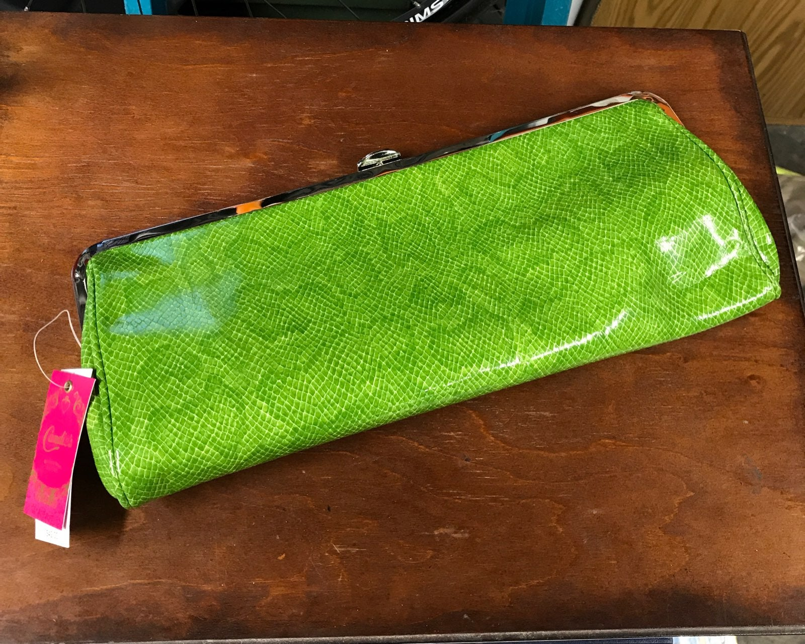 NEW Candie's Green Snake Wallet