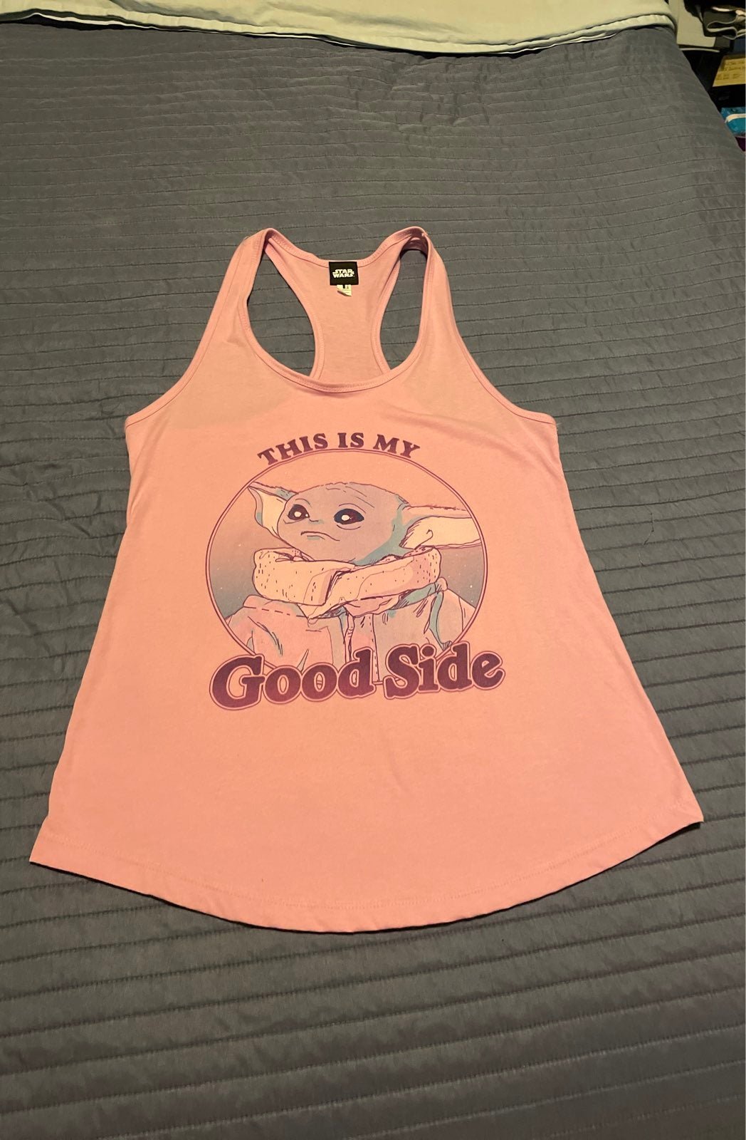 Star wars pink Tank Top the child new