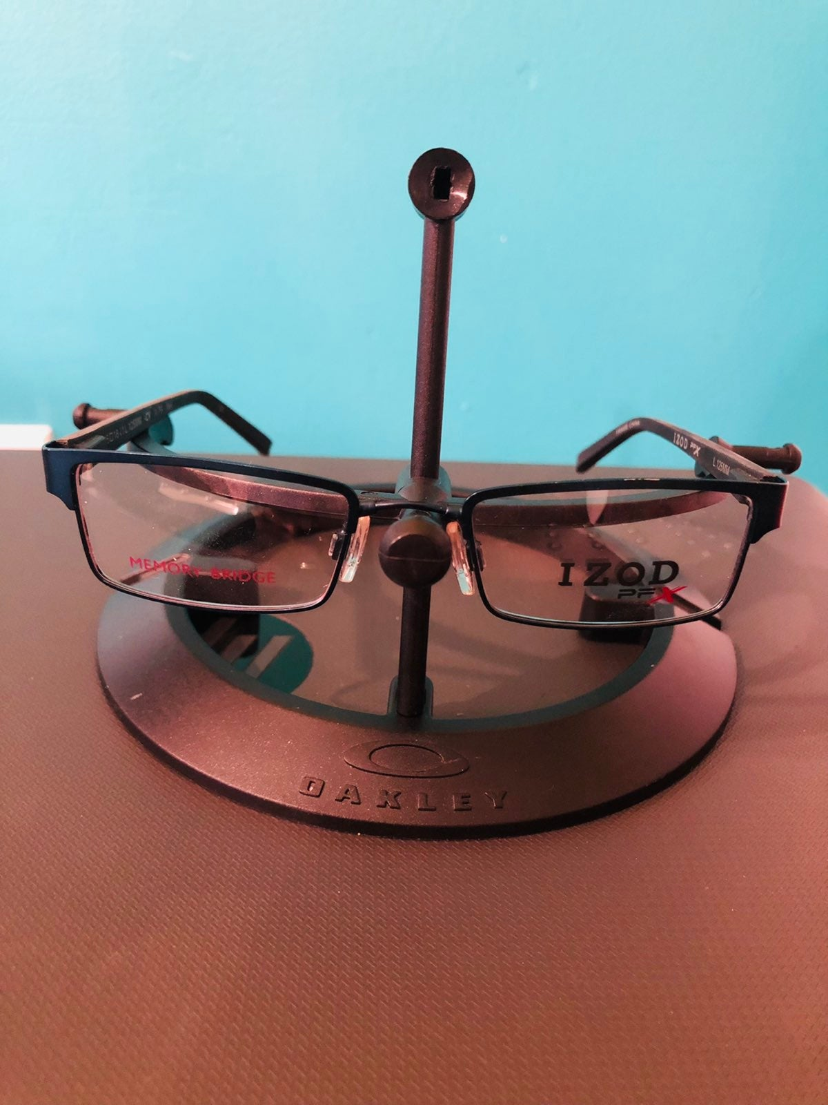New Izod PFX Eyeglass Frame Woman Blu