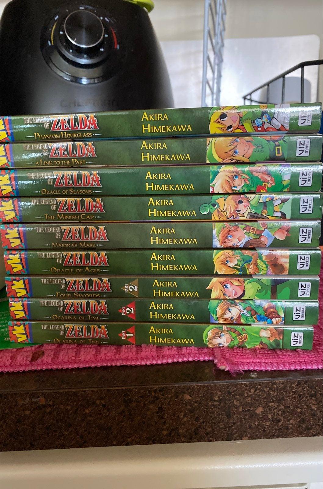 Legend of Zelda Manga Lot