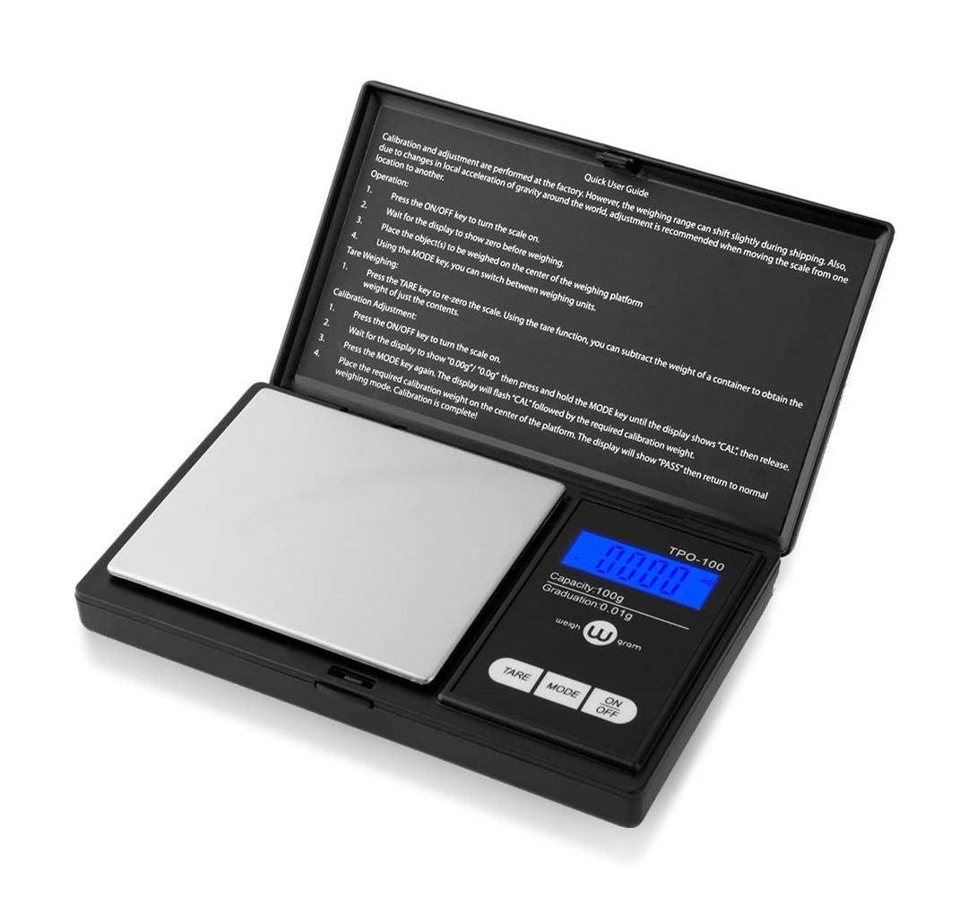 Weigh Gram Digital Pocket Scale 100g NEW