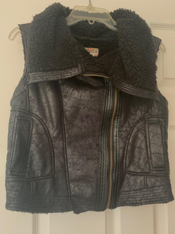 Burning Man Rocker Fleece Lined Vest