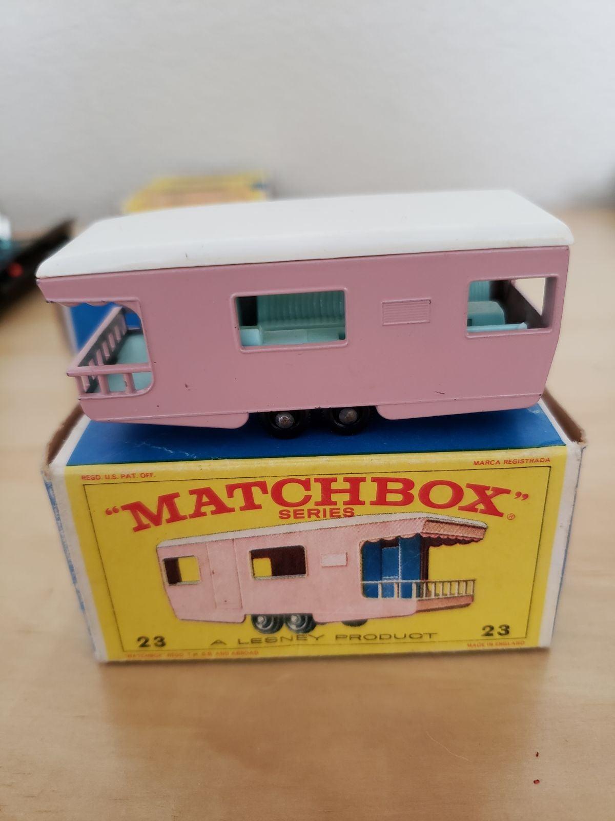 Matchbox Car Trailer Caravan