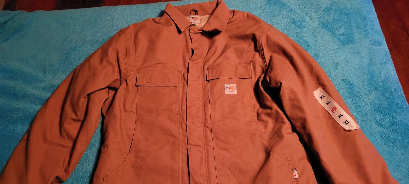 Carhartt Jacket Flame resistant xl NWT