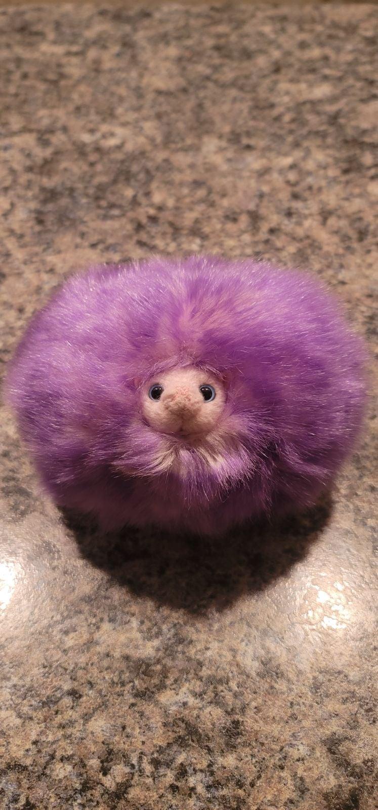 Harry Potter Purple Pygmy Puff Plush