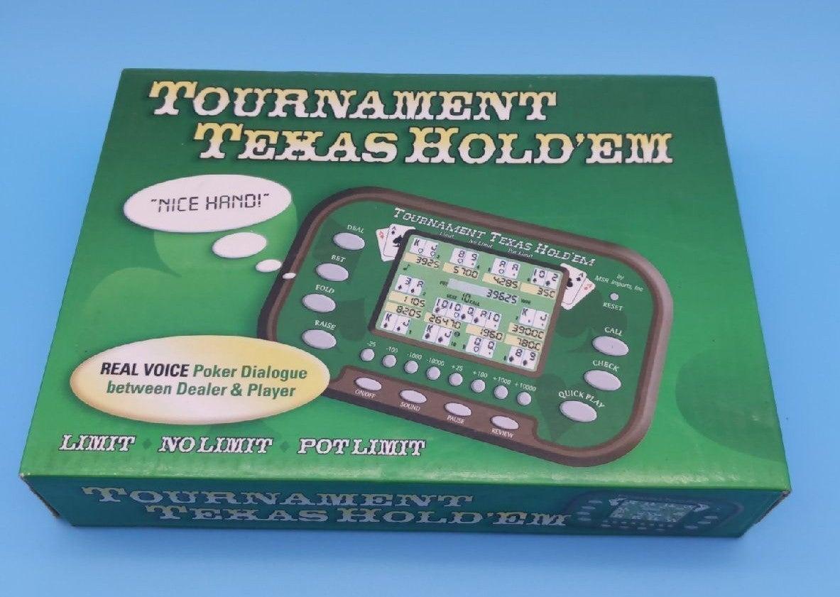 Handheld Tournament Texas Hold'em Game