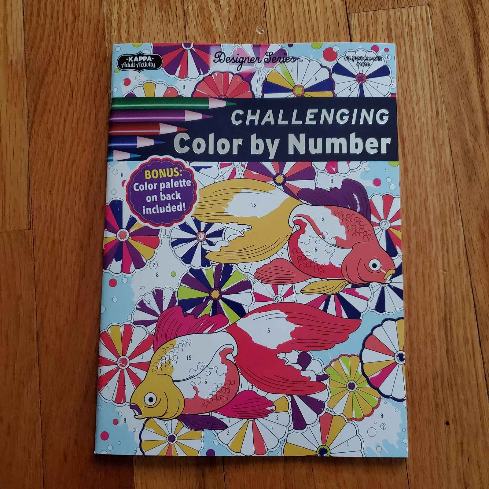 Adult Coloring Book COLOR BY NUMBER