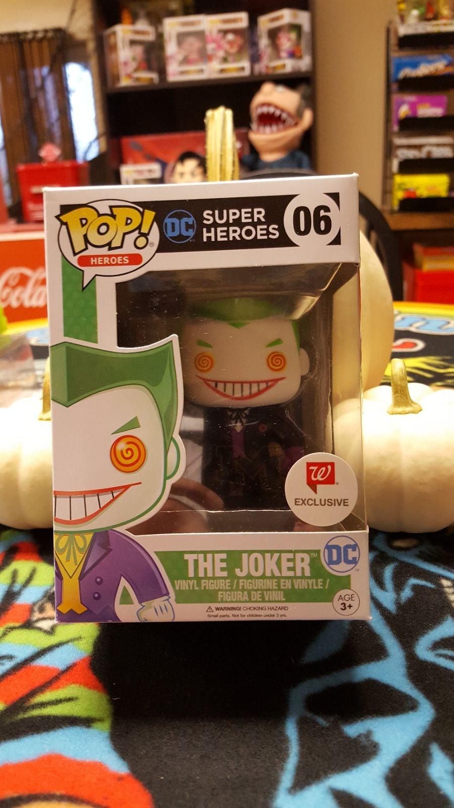 Funko Pop Walgreens Joker black suit
