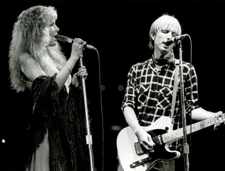 Tom Petty Stevie Nicks 8x10 music photo