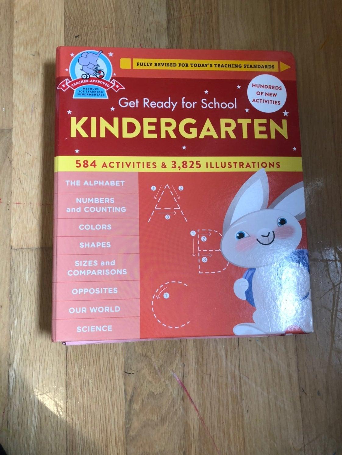 Getting ready for kindergarten book