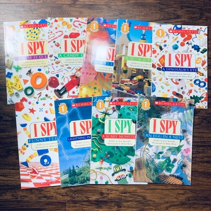 9 I Spy Books Scholastic