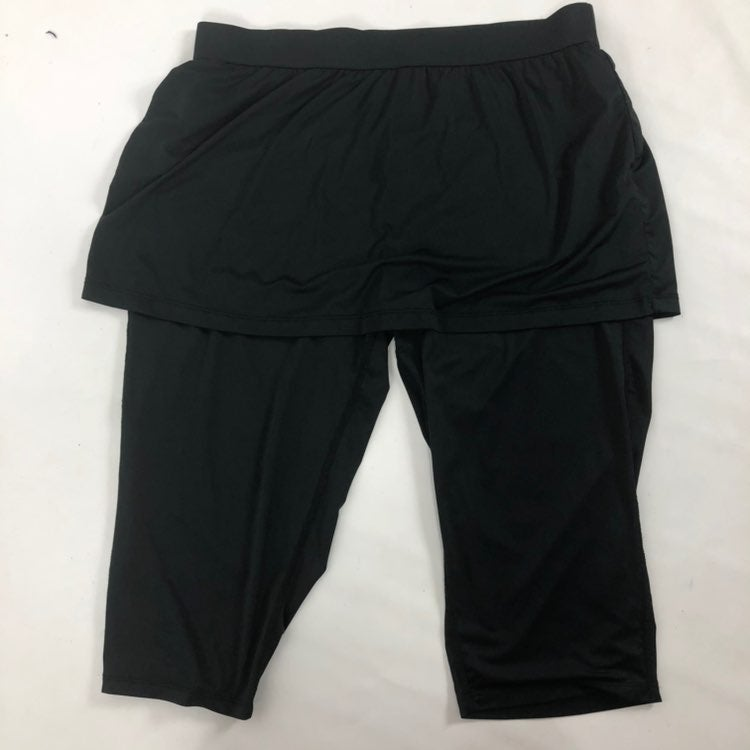 Tail Biker Shorts With Skirt Size large