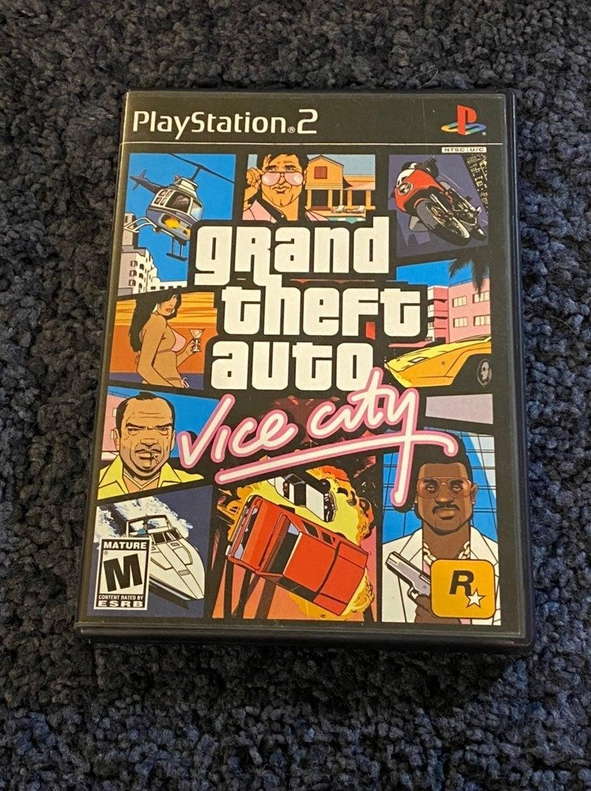 PS2 Grand Theft Auto Vice City CIB