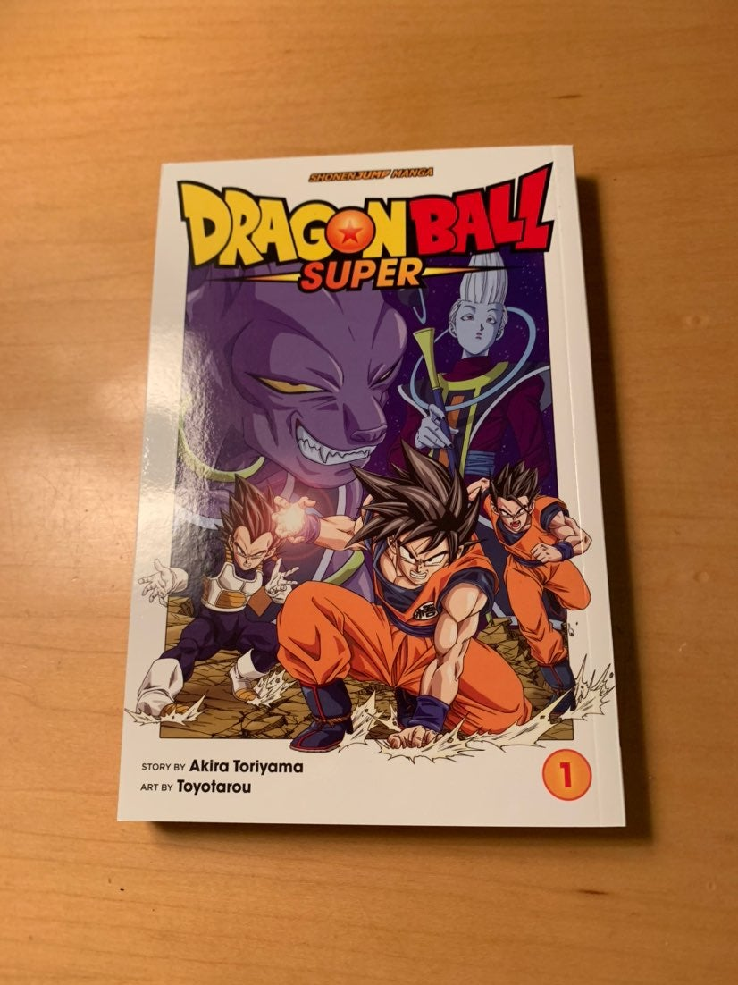 Dragon ball Super Manga vol 1 loot crate