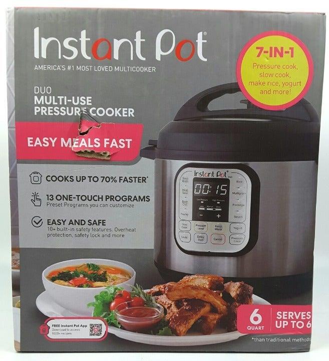 Instant Pot Duo Multi Use Pressure Cooker 6 Qt (#6)