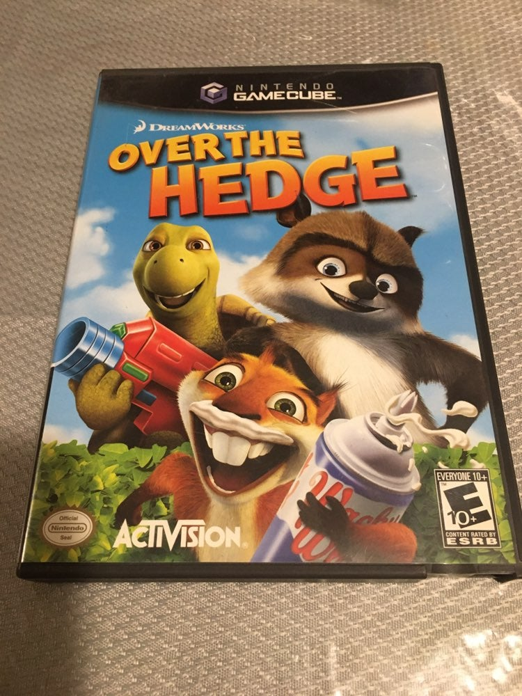 GameCube  Over The Hedge Game