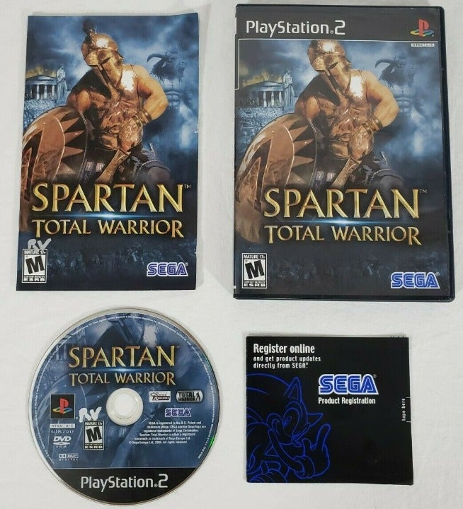 Spartan: Total Warrior PS2 complete