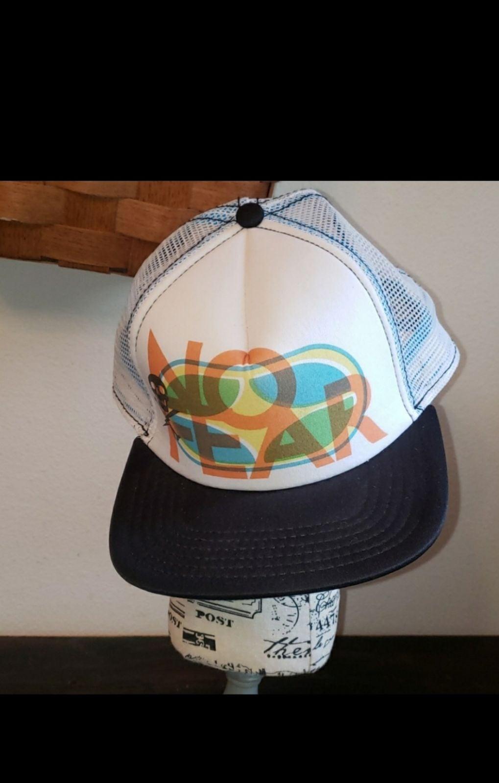 No fear snapback hat