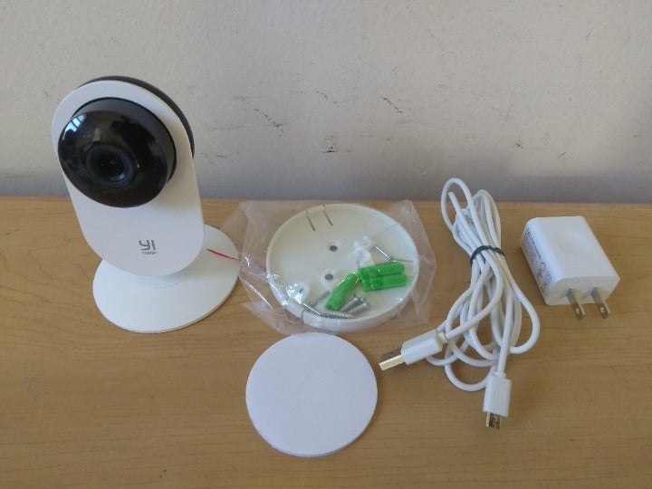 Yi 1080p Security Camera with extras