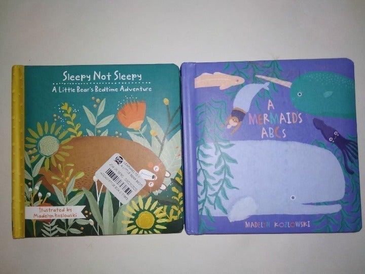 Manhattan Toy 2 Baby Board Books New