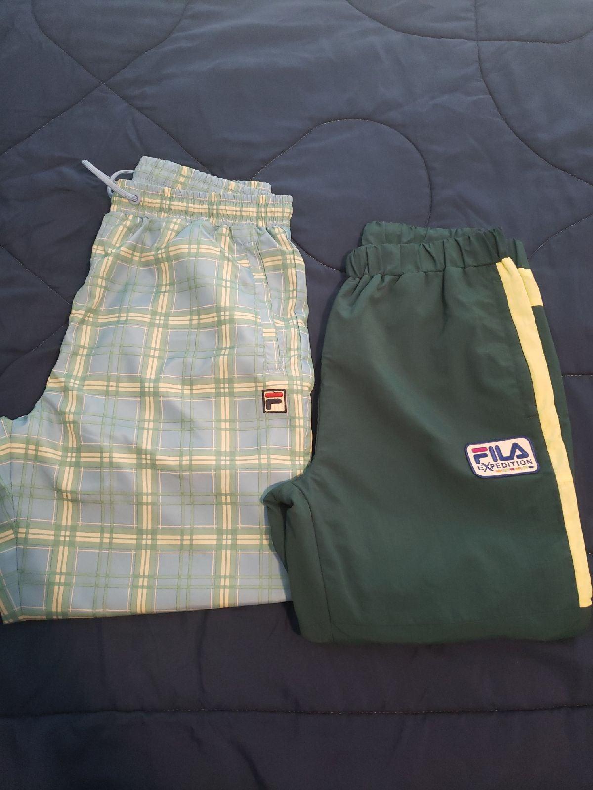 Fila track pants size medium