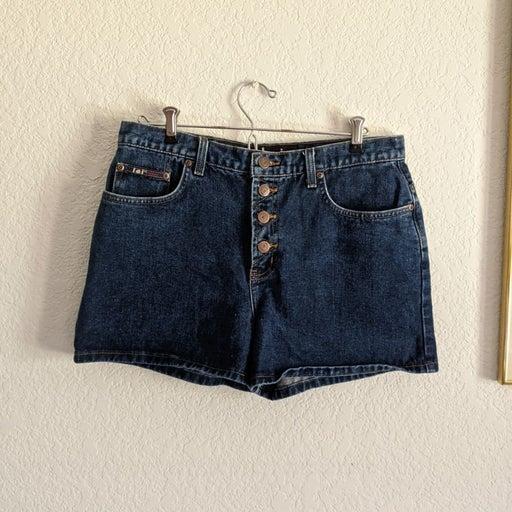VTG Y2K LEI Denim Jean High Rise Shorts