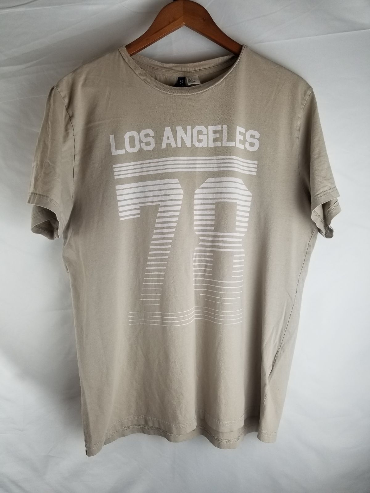 Los Angeles 78 T shirt Divided Lg