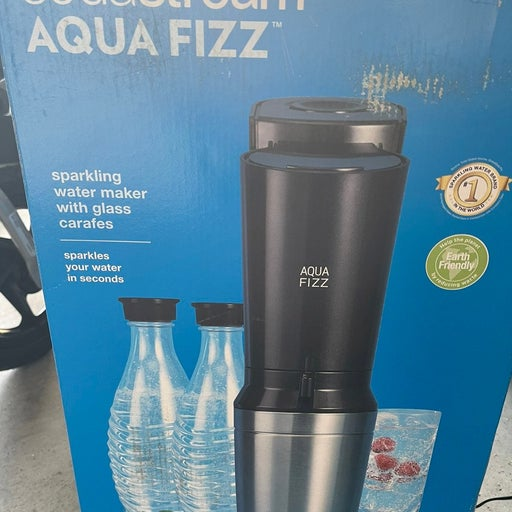 SodaStream Aqua Fizz Sparkling Water Mac